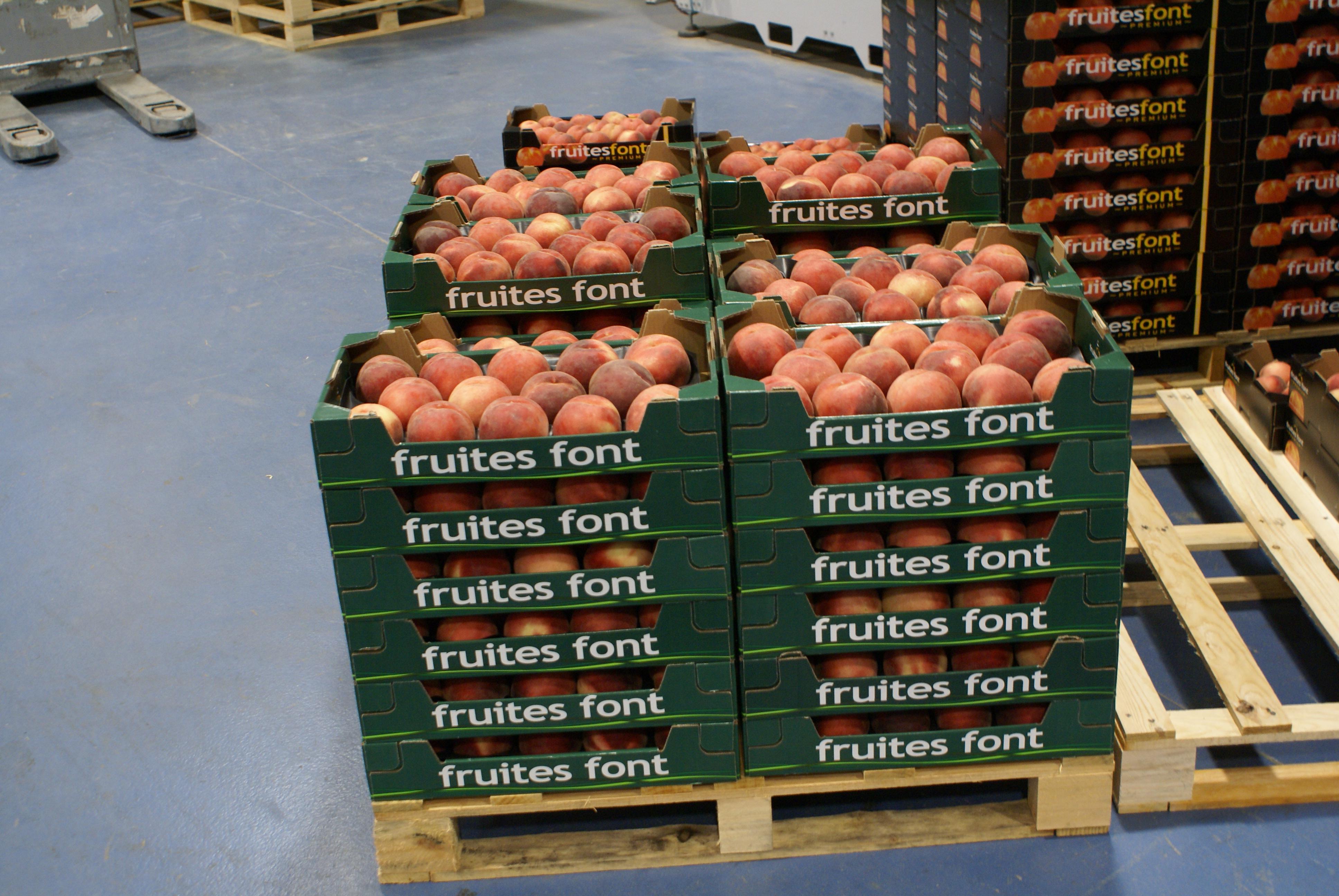 Font 1 - frutas de hueso